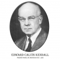 Año 1950-Edward Calvin Kendall