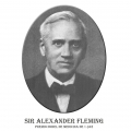 Año 1945-Sir Alexander Fleming