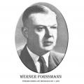 Año 1956-Werner Forsmann