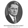 Año 1945-Sir Howard Walter Florey