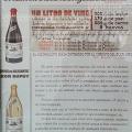 El litro de  Vino
