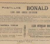 Bonald pastillas